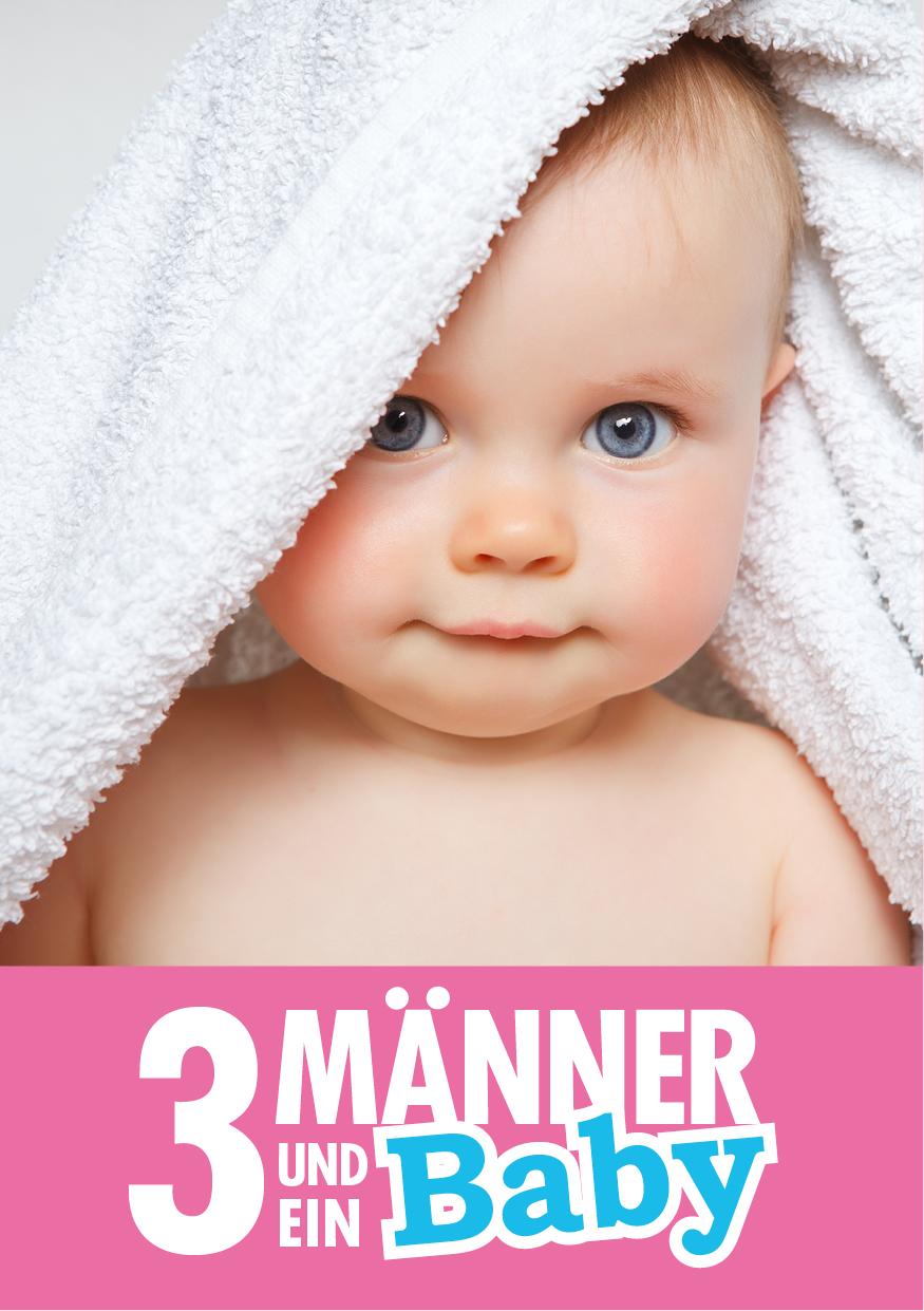 Drei Männer und ein Baby © Shutterstock - Ramona Heim