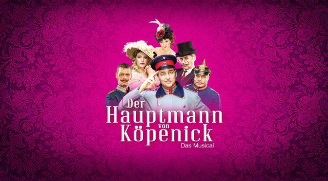 Hauptmann von Köpenick - das Berlin Musical LOGO (c) Heiko Stang