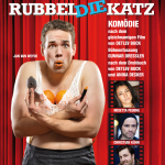 Rubbeldiekatz - Plakatmotiv (Gestaltung: Anna-Maria Sauer / Szenenfoto mit Jan van Weyde © Chris Gonz)