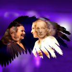 Spatz und Engel